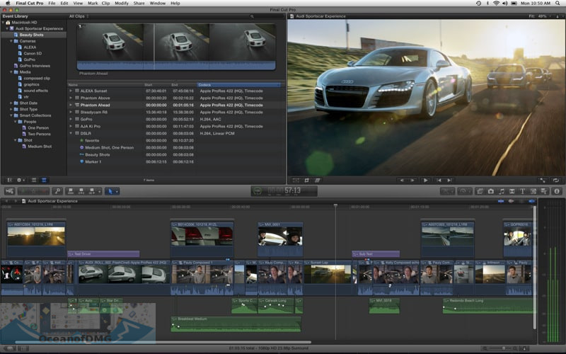 Apple Final Cut Pro X for Mac Features