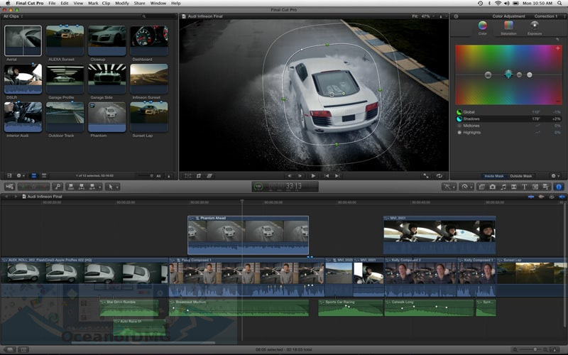 Apple Final Cut Pro X for Mac Setup Free Download
