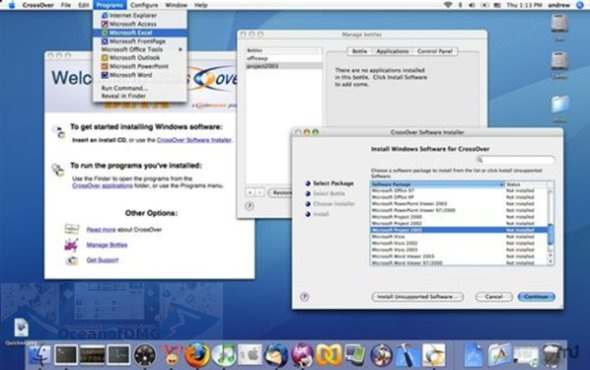 CrossOver for Mac OS X Direct Link Download