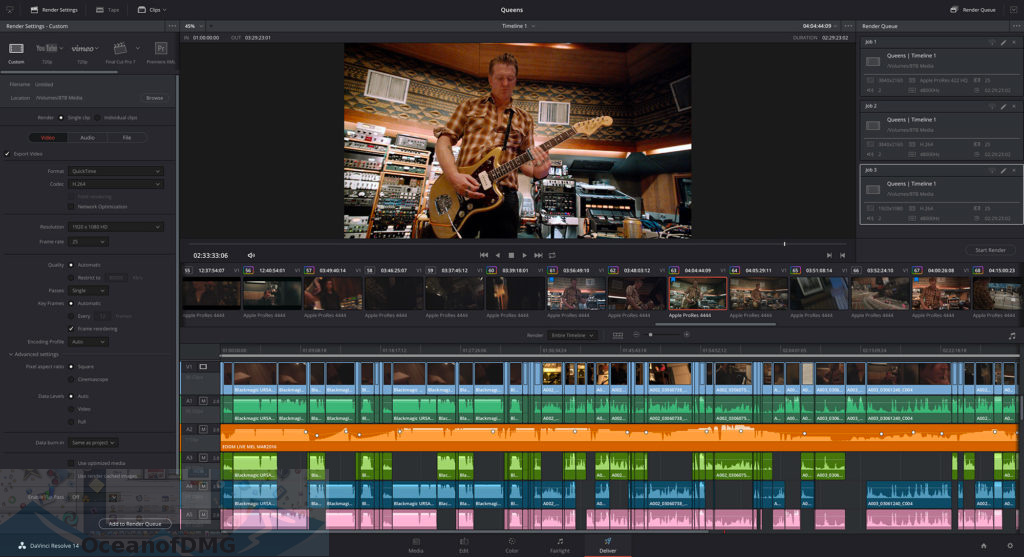 DaVinci Resolve Studio for Mac Latest Version Download