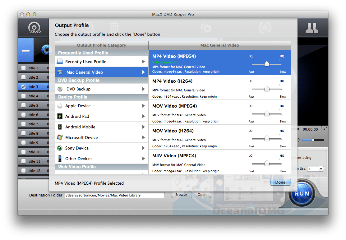 Mac DVDRipper Pro for Mac Latest Version DOwnload