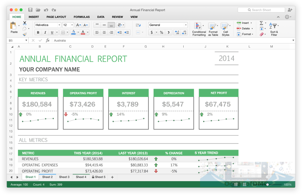 Microsoft Excel 2016 for Mac Direct Link Download