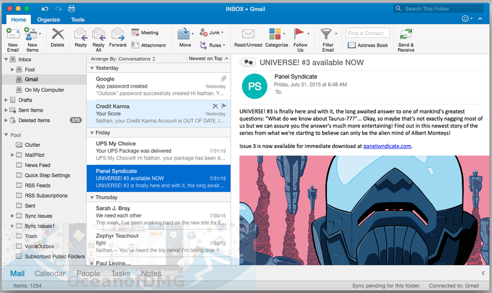 Microsoft Outlook 2016 for Mac Latest Version Download