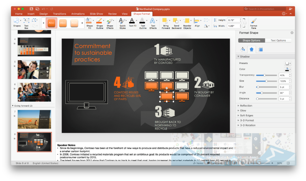Microsoft Powerpoint 2016 for Mac Direct Link Download