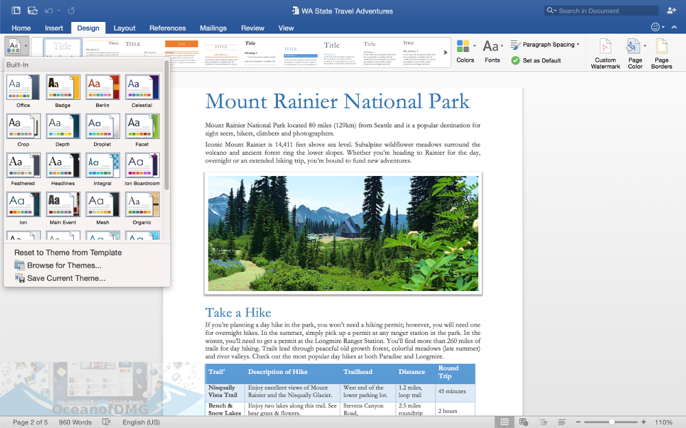 Microsoft Word 2016 for Mac Direct Link Download