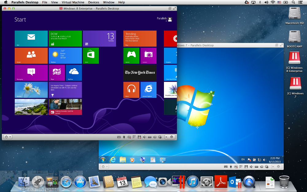 Parallels Desktop for Mac OS X Direct Link For Macbook