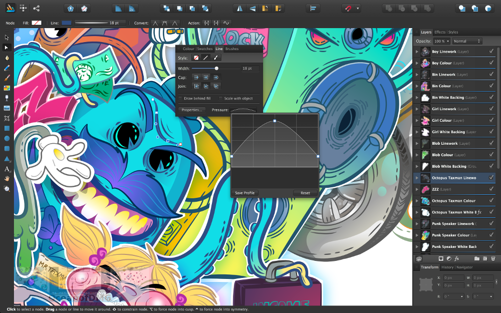 Serif Affinity Designer for Mac Latest Version Download