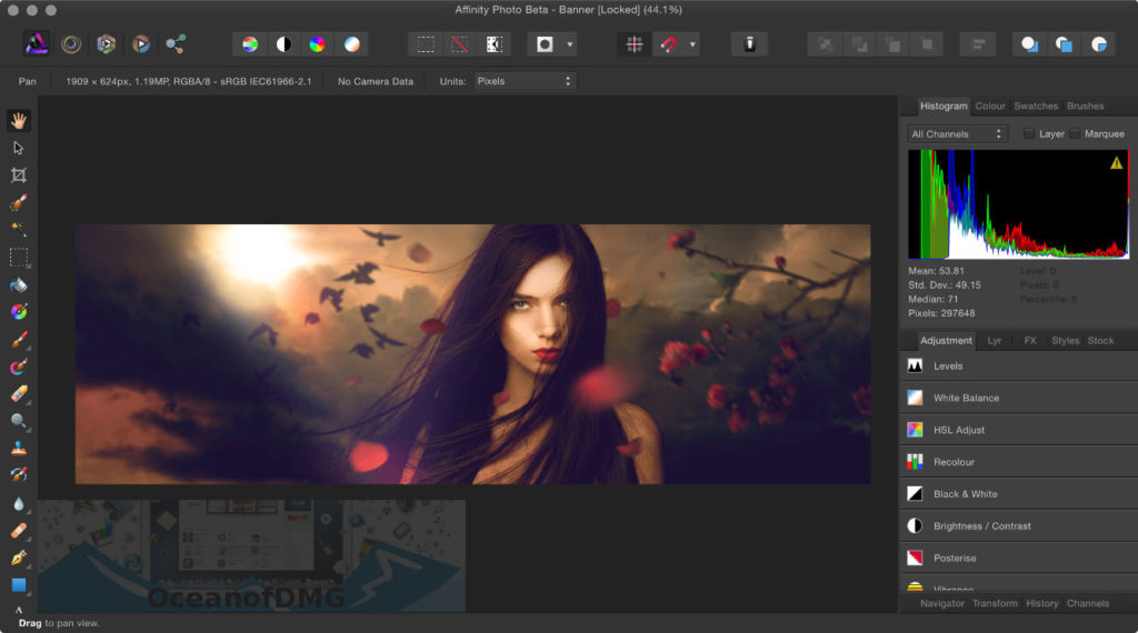 Serif Affinity Photo for Mac Direct Link Download