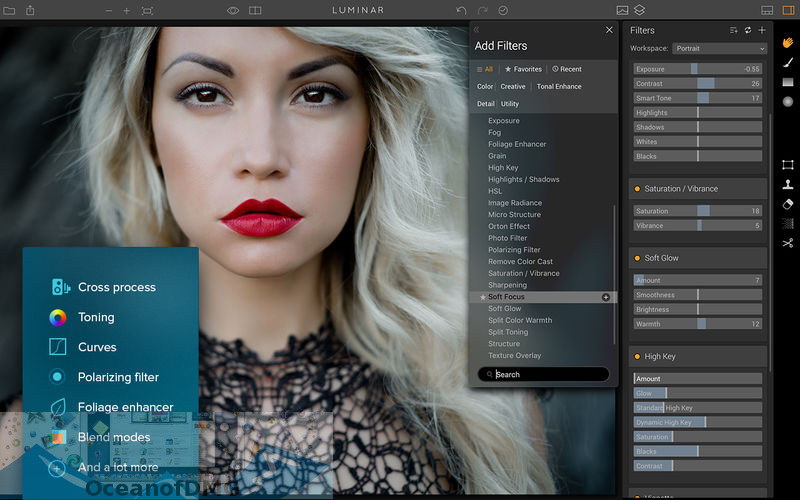 Luminar 2018 v1.0.1 for Mac Direct Link Download