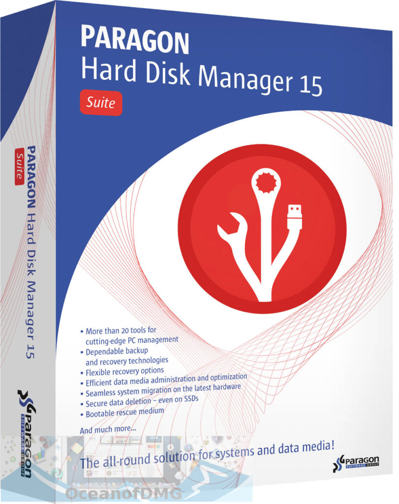 Paragon Hard Disk Manager for Mac Free Download