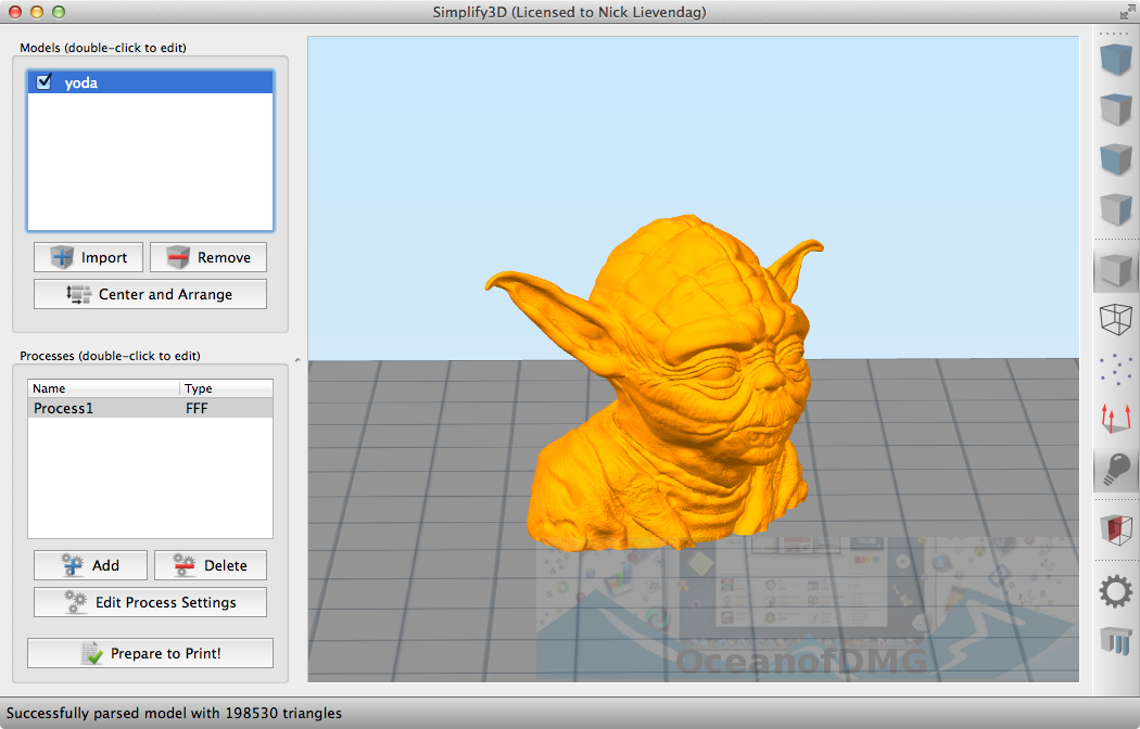 Simplify3D 4.0.1 for Mac Direct Link Download