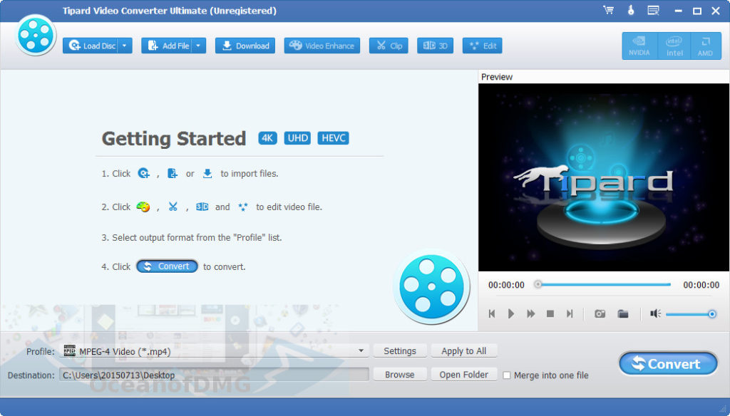 Tipard Video Converter Ultimate for Mac Direct Link Download
