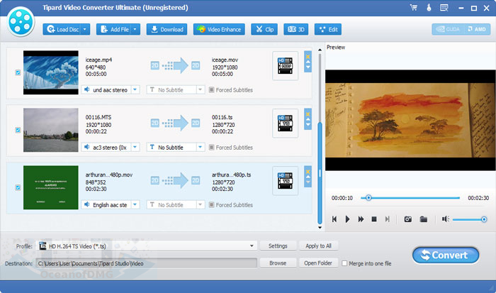 Tipard Video Converter Ultimate for Mac Latest Version Download