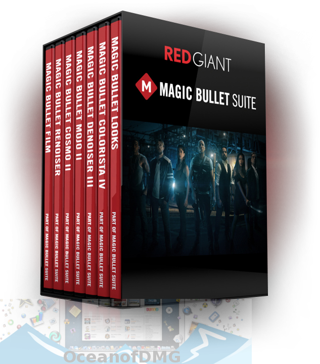 Red Giant Magic Bullet Suite for Mac Free Download