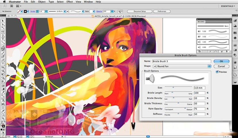 Adobe Illustrator CC 2018 for Mac Offline Installer Download