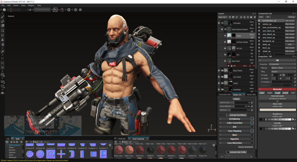 substance painter 2018 1.2 crack