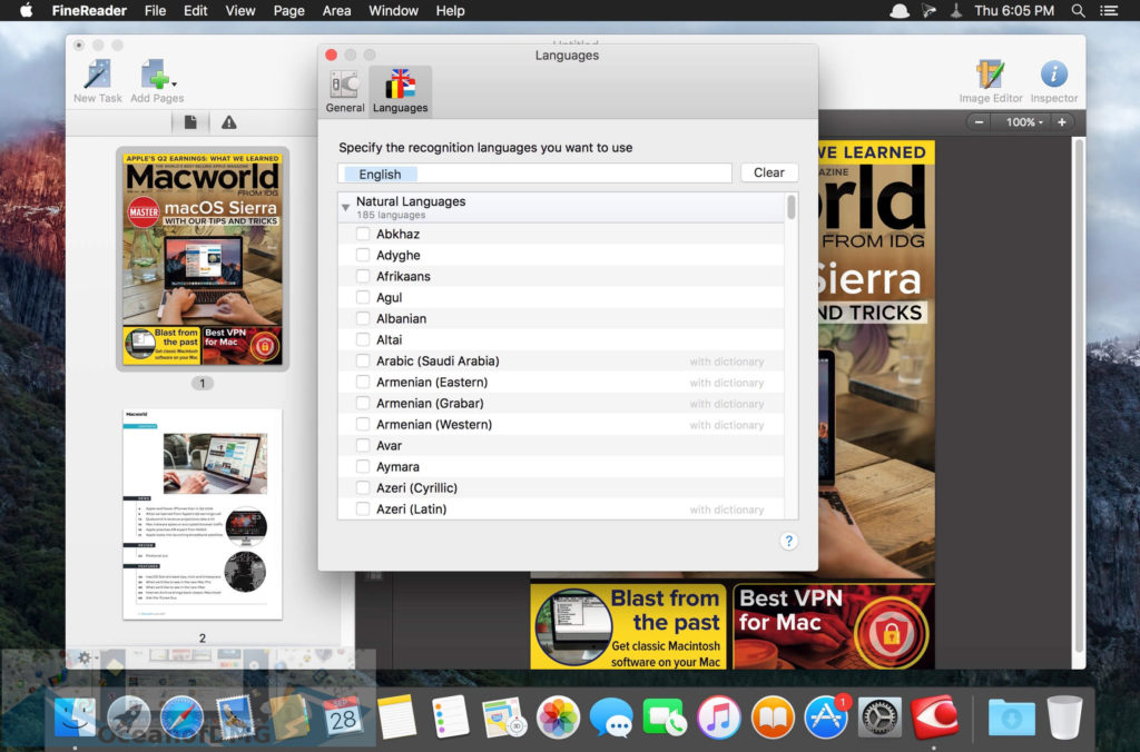 ABBYY FineReader 12.1.11 for Mac Latest Version Download