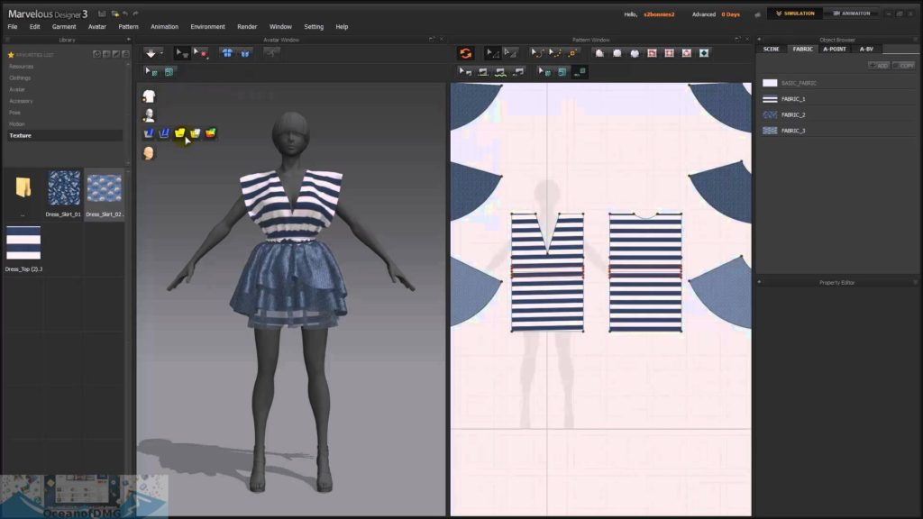 Marvelous Designer 7.5 for Mac Latest Version Download-OceanofDMG.com