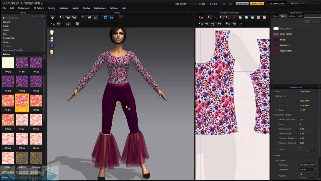 Marvelous Designer 7.5 for Mac Offline Instller Download-OceanofDMG.com