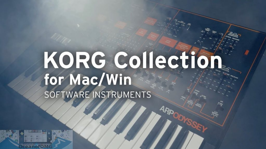 Win XP - Mac OS 10.1.6 Korg Legacy Collection Software