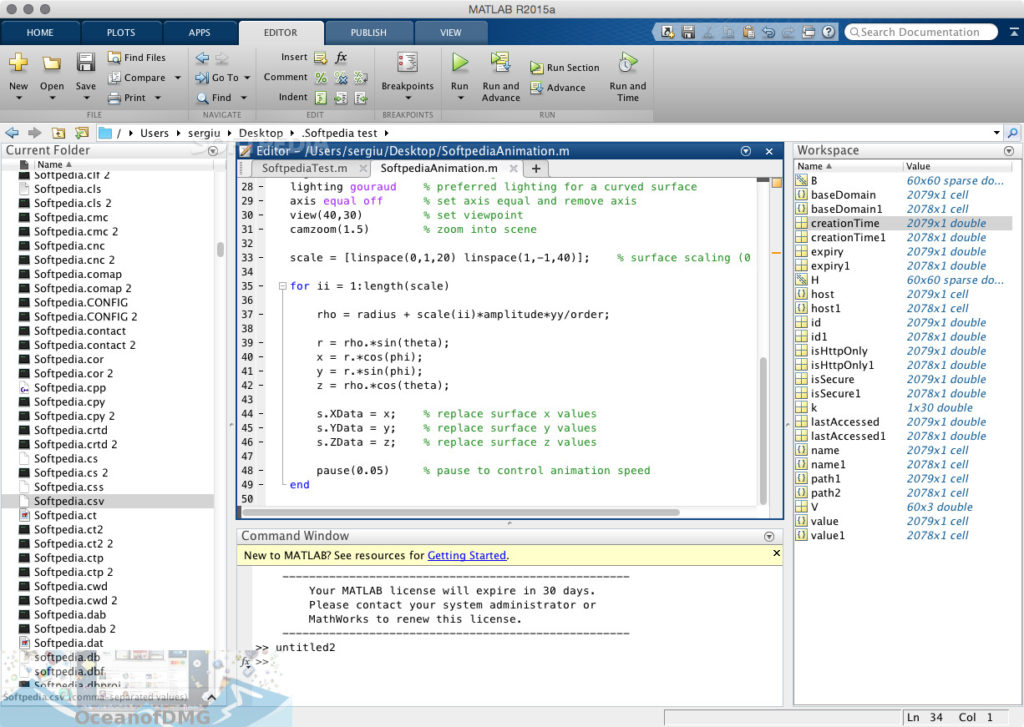 MATLAB R2018a for Mac Latest Version Download-OceanofDMG.com