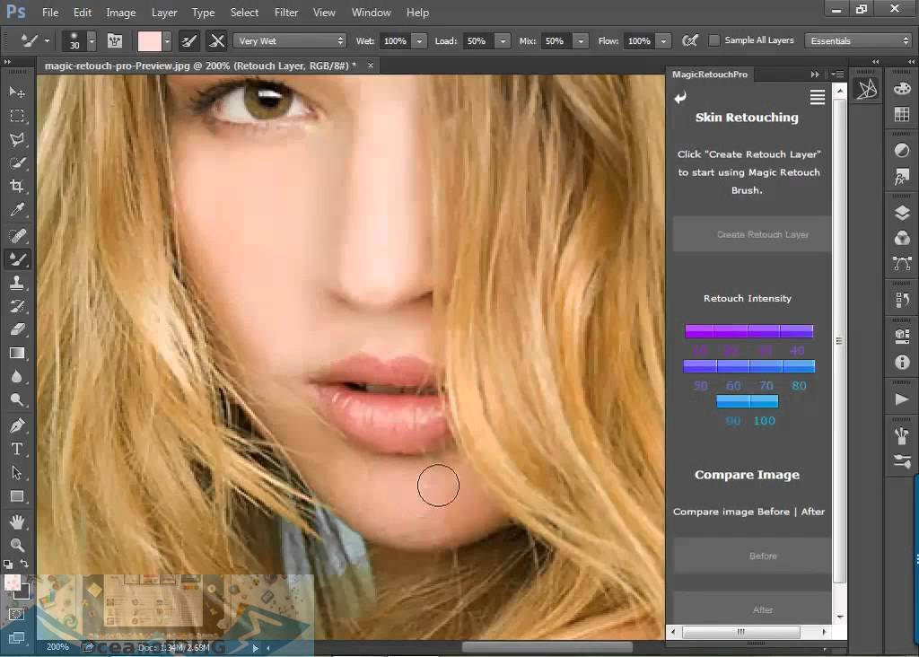 Magic Retouch Pro for Mac Offline Installer Download-OceanofDMG.com