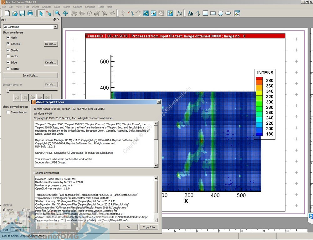 Tecplot Focus 2018 for Mac DIrect Link Download-OceanofDMG.com