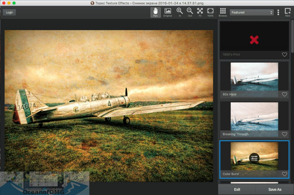 Topaz Texture Effects for Mac Offline Installer Download-OceanofDMG.com