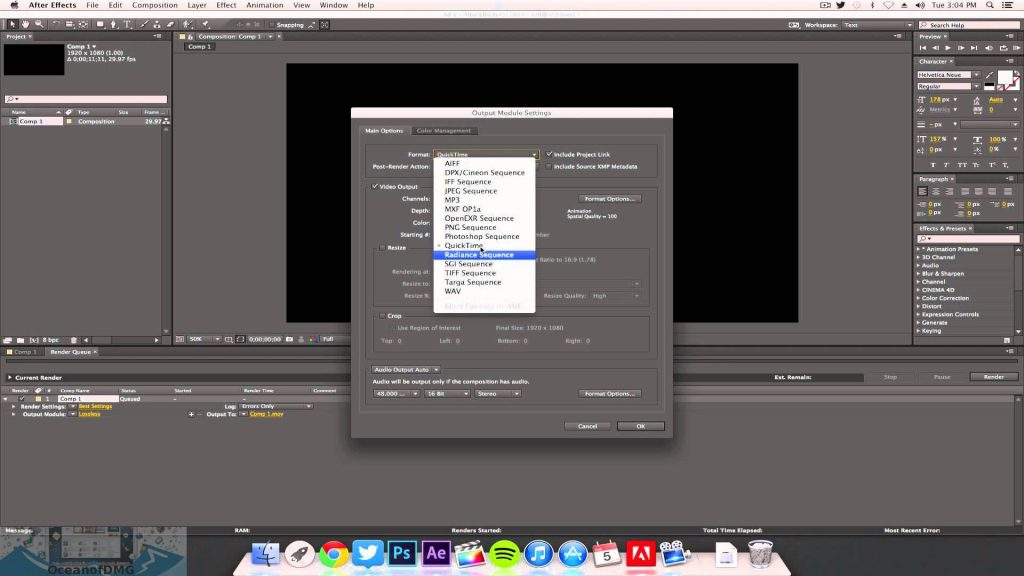 Adobe After Effects CC for Mac Latest Version Download-OceanofDMG.com