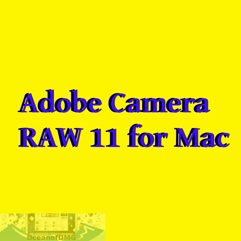 Adobe Camera RAW 11 for Mac Free Download-OceanofDMG.com