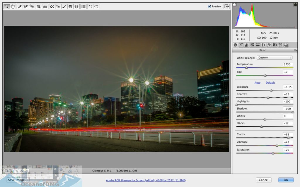 Adobe Camera Raw 11 for Mac Direct Link Download-OceanofDMG.com