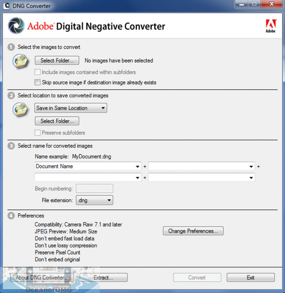 Adobe DNG Converter 11 for Mac Latest Version Download-OceanofDMG.com