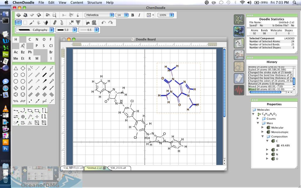 ChemDoodle for Mac Latest Version Download-OceanofDMG.com