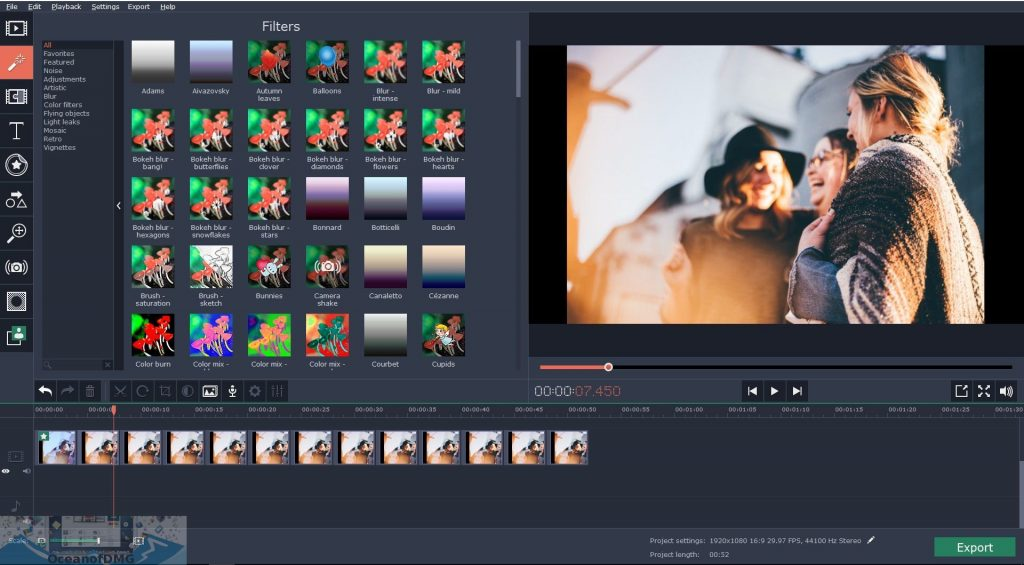 Movavi Video Editor Business for Mac Direct Link Download-OceanofDMG.com