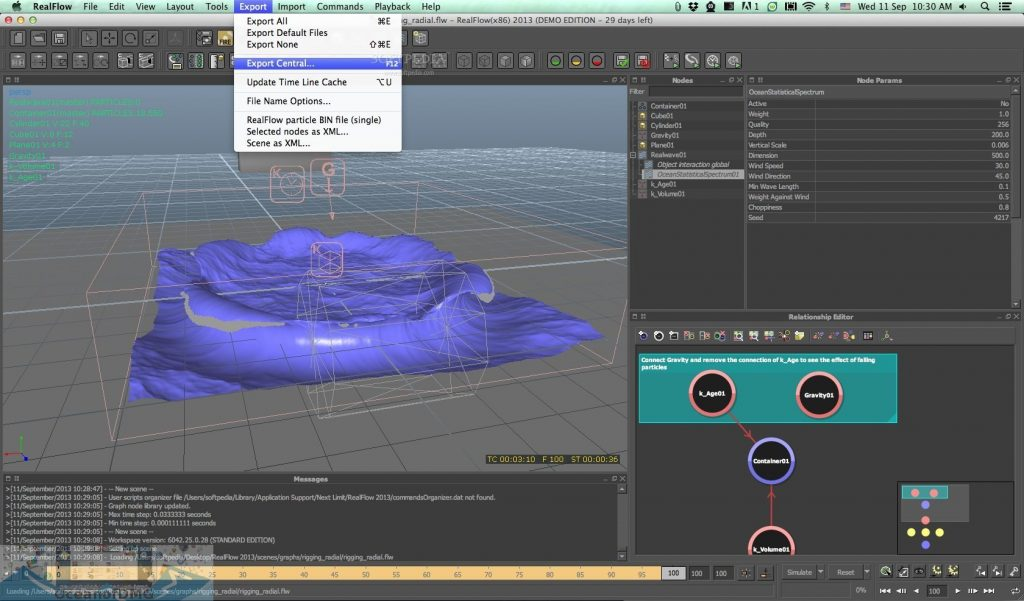 NextLimit RealFlow for Mac Latest Version Download-OceanofDMG.com
