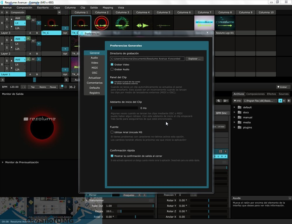 Resolume Arena 6 for Mac Latest Version Download-OceanofDMG.com