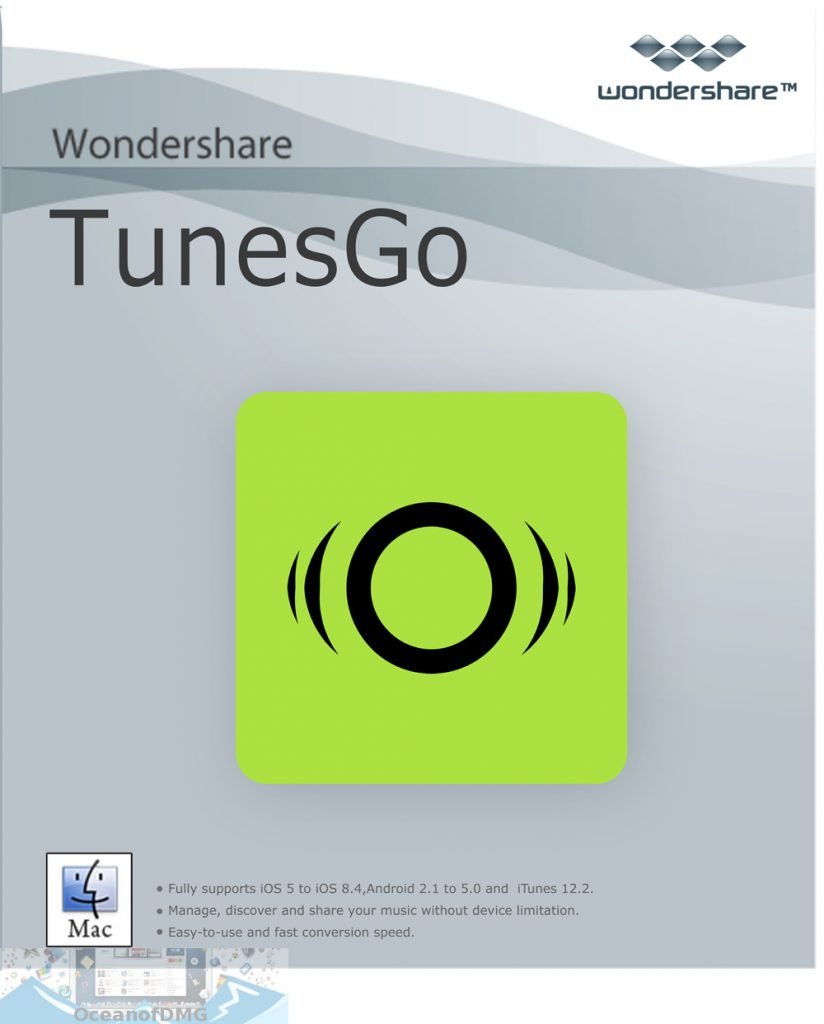 Wondershare TunesGo for Mac Free Download-OceanofDMG.com