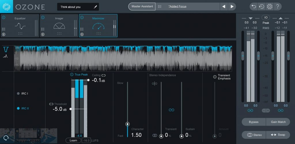 iZotope Ozone Advanced 8 for Mac Offline Installer Download