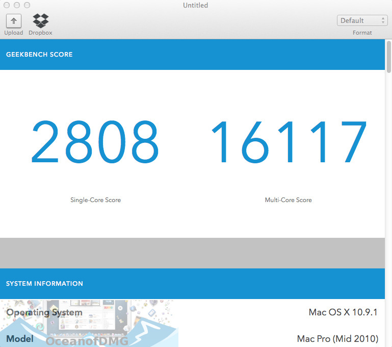 Geekbench Pro for Mac Offline Installer Download-OceanofDMG.com