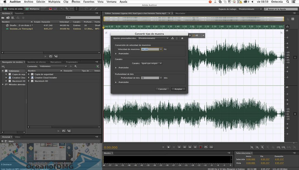 Adobe Audition CC 2019 for Mac Latest Version Download-OceanofDMG.com