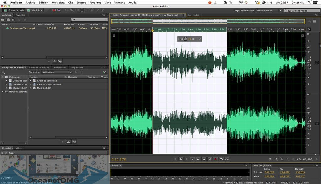 Adobe Audition CC 2019 for Mac Offline Installer Download-OceanofDMG.com