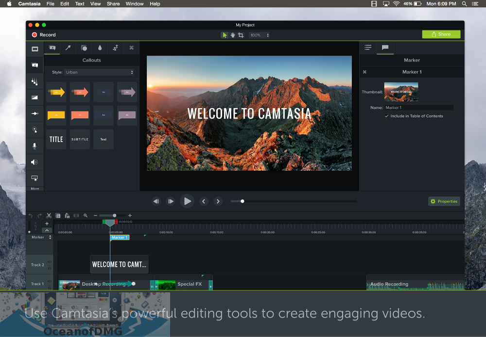 Camtasia 2018 for Mac Direct Link Download-OceanofDMG.com