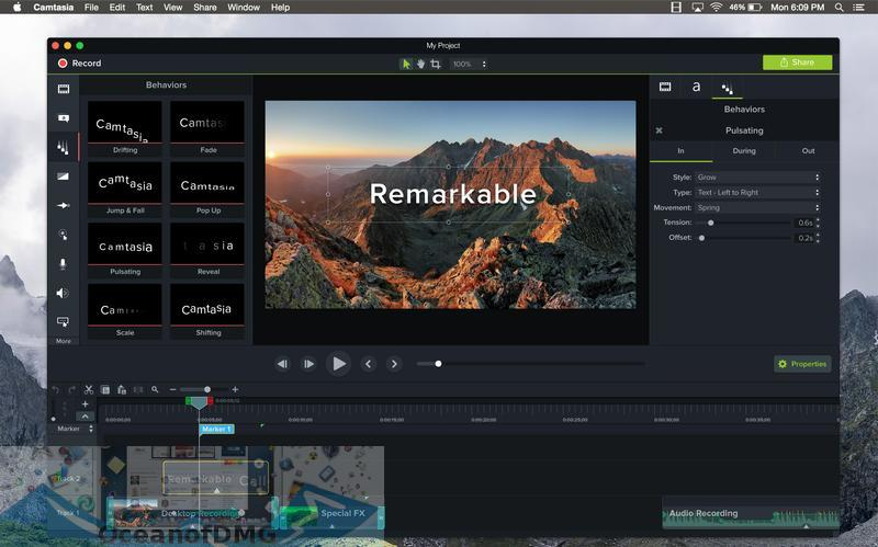 Camtasia 2018 for Mac Latest Version Download-OceanofDMG.com