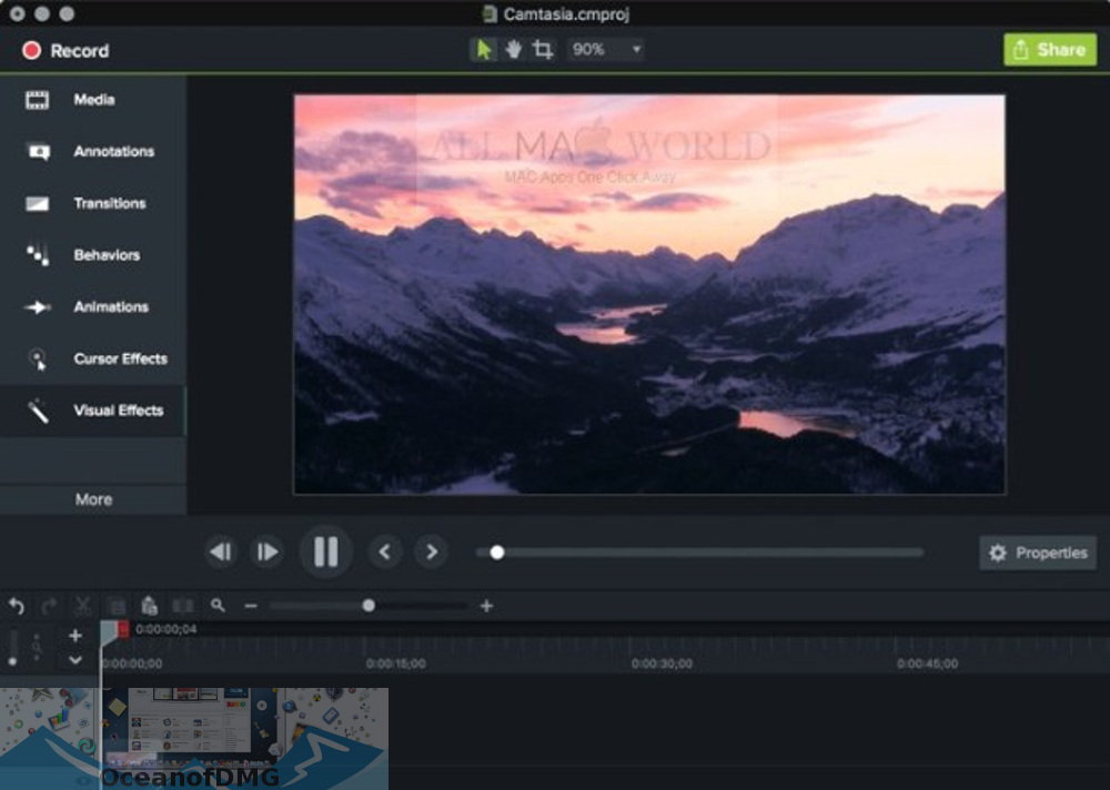 Camtasia 2018 for Mac Offline Installer Download-OceanofDMG.com
