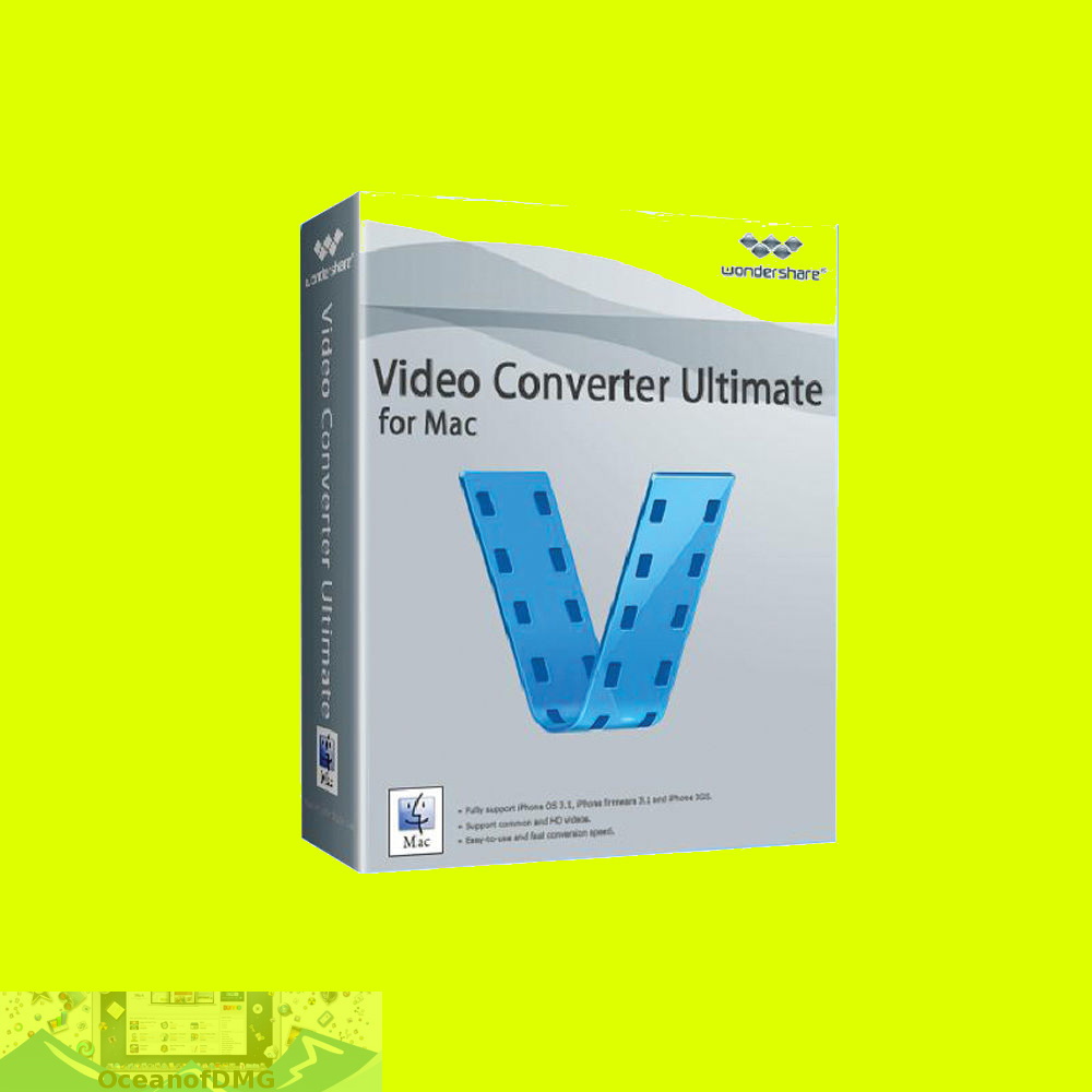 Wondershare Video Converter Ultimate for Mac Free Download-OceanofDMG.com