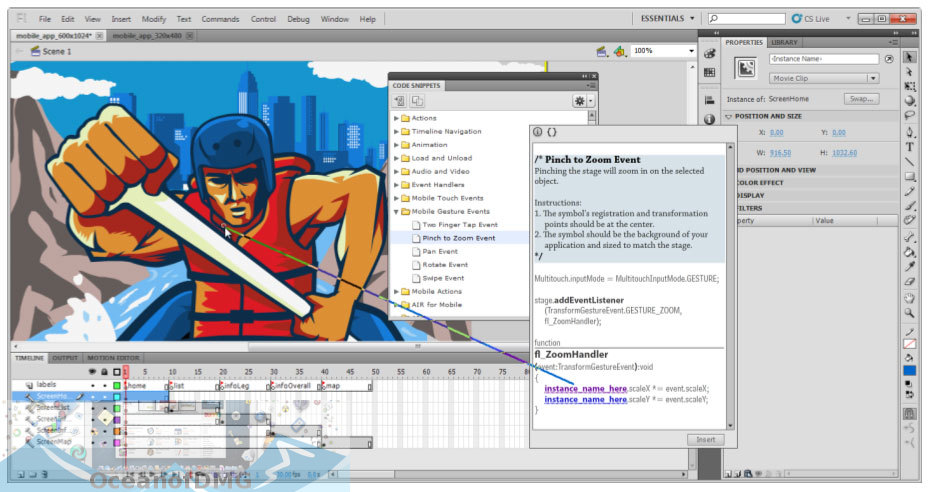 Adobe Flash Professional CS5.5 for Mac Latest Version Download-OceanofDMG.com