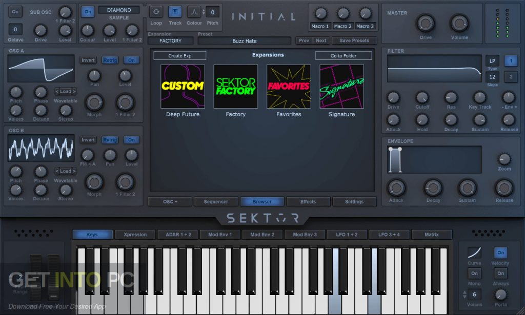 Initial Audio - Sektor for Mac Latest Version Download-GetintoPC.com