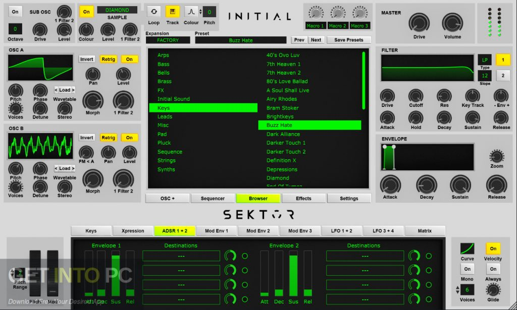 Initial Audio - Sektor for Mac Offline Installer Download-GetintoPC.com