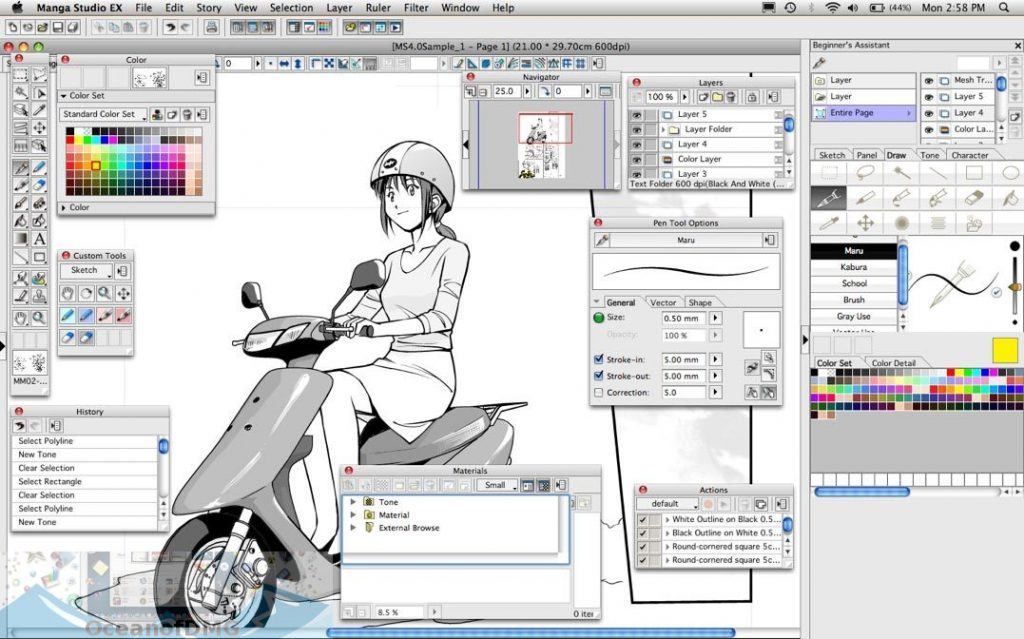 Manga Studio for Mac Direct Link Download-OceanofDMG.com