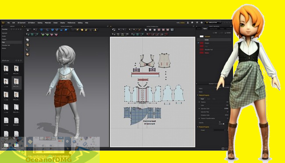 Marvelous Designer 3 for Mac Latest Version Download-OceanofDMG.com